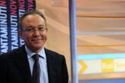 23/01/2013 Roma nuova trasmissione di rai sport 90MINUTI, nella foto Enrico Varriale