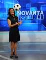 23/01/2013 Roma nuova trasmissione di rai sport 90MINUTI, nella foto la conduttrice Valeria Ciardiello