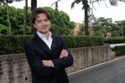 28/05/2014 Roma presentazione della fiction di rai uno A TESTA ALTA, nella scuola ufficiali dei carabinieri, nella foto: Ettore Bassi