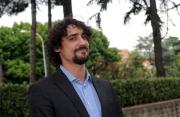 28/05/2014 Roma presentazione della fiction di rai uno A TESTA ALTA, nella scuola ufficiali dei carabinieri, nella foto: Marco Cocci