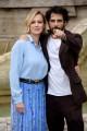 Foto/IPP/Gioia Botteghi Roma21/11/2019 presentazione del film A Tor bella monaca non piove mai, nella foto  Antonia Liskova e Marco Bocci Italy Photo Press - World Copyright