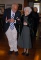 """OMEGA/Gioia Botteghi 03/05/07 nelle foto: Rita Levi Montalcini  e Aaron CiechanoverI.Il Senato Accademico del Technion Israel Institute of Technology di Haifa consegnerà il """"premio speciale"""" alla Senatrice Rita Levi Montalcini il prossimo 4 maggio in Campidoglio, nel corso di una cerimonia ufficiale.Il riconoscimento verrà conferito da Aaron Ciechanover,  Premio Nobel per la Chimica nel 2004"""