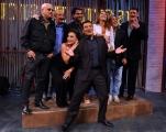 3/09/2012 Roma puntata speciale di AFFARI TUOI rai uno in onda il 12 settembre, nella foto: Max Giusti ,Sabrina Salerno, Ernrico Ruggeri, Ricchi e Poveri, Alberto Tomba e Tony Hadley
