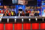 Roma puntata speciale de Affari tuoi- carnevale, nella foto: Barbara de Rossi, Daniele Liotti, Giorgia Surina, Claudio Amendola, Martina Colombari, Francesco Arca, Katia Ricciarelli, Claudio Lippi
