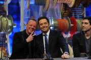 Roma puntata speciale de Affari tuoi- carnevale, nella foto: Gigi D'Alessio, Alberto Matano