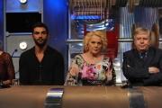Roma puntata speciale de Affari tuoi- carnevale, nella foto: Francesco Arca, Katia Ricciarelli, Claudio Lippi