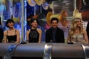 Roma puntata speciale de Affari tuoi- carnevale, nella foto: Bianca Guaccero, Simona Molinari, Gabriele Rossi, Lorella Cuccarini