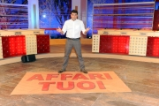Roma 16/02/2011 Max Giusti presenta la nuova serie di Affari tuoi, raiuno