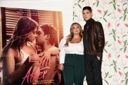 Foto/IPP/Gioia Botteghi Roma 30/03/2019 presentazione del film After, nella foto: il protagonista Hero Fiennes Tiffin e l'autrice del best seller mondiale Anna Todd dal quale è tratto il film Italy Photo Press - World Copyright