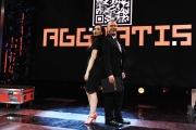 23/04/2013 Roma la nuova trasmissione di rai2 Aggratis 9 puntate dal 26/4, nella foto: Chiara Francini e Fabio Canino
