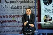 01/03/2013 Roma ad AGORA' il passaggio di conduzione da Andrea Vianello