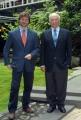 Gioia Botteghi 17/04/08 Roma conferenza stampa per la nuova serie di - Ulisse- raiuno nelle foto Alberto e Piero Angela