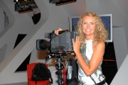 30/09/2012 Roma ALLE FALDE DEL KILIMANGIARO rai tre, nella foto Licia Colò nel nuovo studio