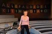 Roma 15/03/2009 Trasmissione_Alle falde del Kilimangiaro_ raitre nella foto Licia Colò