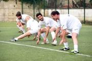 05/05/2016 Roma allenamento de La partita del cuore, nella foto: Pietro Sermonti