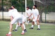 05/05/2016 Roma allenamento de La partita del cuore, nella foto: Edoardo Leo