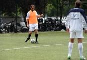 05/05/2016 Roma allenamento de La partita del cuore, nella foto: Marco Tardelli e Neri Marcorè