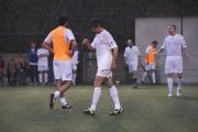 05/05/2016 Roma allenamento de La partita del cuore, nella foto: Marco Morandi sotto la pioggia