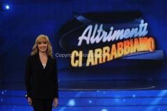 06/04/2013 Roma Puntata Altrimenti ci arrabbiamo, nella foto Milly Carlucci