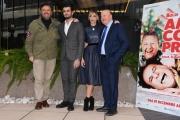 Foto/IPP/Gioia Botteghi Roma10/12/2018 Presentazione del film Amici come prima, nella foto: MASSIMO BOLDI e CHRISTIAN DE SICA con Regina Orioli e Francesco Bruni Italy Photo Press - World Copyright