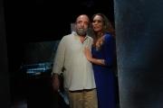 09/05/2013 Roma Barbara De Rossi presenta per rai tre Amore Criminale, ospite della puntata Giobbe Covatta