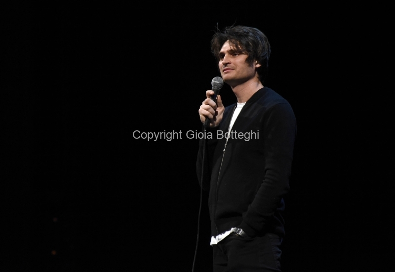 Foto/IPP/Gioia Botteghi Roma21/02/2019 spettacolo teatrale ( monologo ) al Teatro Brancaccio di Roma di Angelo Duro Italy Photo Press - World Copyright