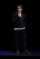 Foto/IPP/Gioia Botteghi Roma21/02/2019 spettacolo teatrale ( monologo ) al Teatro Brancaccio di Roma di Angelo Duro Italy Photo Press - World Copyright