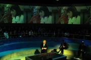 14/11/08 puntata di Anno zero nella foto MIchele Santoro