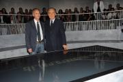 Roma 24/09/2009 Trasmissione Annozero, nella foto Michele Santoro, Marco Travaglio