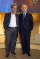 20/09/07 prima puntata di ANNO ZERO nelle foto: Michele Santoro e Sandro Ruotolo