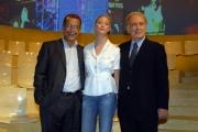 20/09/07 prima puntata di ANNO ZERO nelle foto: Borromeo, Ruotolo, Santoro