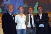 20/09/07 prima puntata di ANNO ZERO nelle foto: Beatrice Borromeo Santoro, Travaglio e Ruotolo