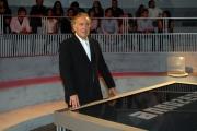 25/09/08 Anno Zero raidue nella foto Michele Santoro