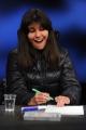 28/02/2016 Roma Lucia Annunziata a IN MEZZ'ORA,presenta i sei candidati alle primarie del PD, nalle foto: Chiara Ferraro