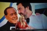 Foto/IPP/Gioia Botteghi 04/02/2018 Roma, puntata di in mezz'ora in più con ospite Giorgia Meloni Italy Photo Press - World Copyright