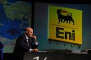 17/01/2016 Roma Annunziata intervista Claudio De Scalzi anninistratore delegato ENI