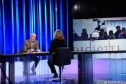 Foto/IPP/Gioia Botteghi Roma03/02/2019 Lucia Annunziata ospita Gregorio De Falco nella trasmissione mezz'ora in più su rai tre Italy Photo Press - World Copyright