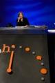 """© Gioia Botteghi 20/11/2016 Roma Maurizio Landini e Matteo Renzi in confronto durante la trasmissione di Lucia Annunziata """"In Mezz'ora"""" di rai 3"""
