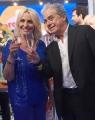 Foto/IPP/Gioia Botteghi 01/06/2018 Roma, Antonella Clerici, Ultima puntata della Prova del cuoco, piange con il direttore di rai uno Angelo Teodoli  Italy Photo Press - World Copyright