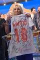 Foto/IPP/Gioia Botteghi 01/06/2018 Roma, Antonella Clerici, Ultima puntata della Prova del cuoco, la maglia con le firme di tutti i cuochi  Italy Photo Press - World Copyright