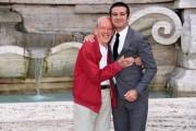 Foto/IPP/Gioia Botteghi Roma 26/09/2019 Presentata del film Appena un minuto, nella foto : il regista Francesco Mandelli con Enzo Garinei Italy Photo Press - World Copyright