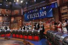 20/12/2015 Roma cifra finale telethon nella trasmissione i fatti vostri