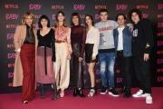 """Foto/IPP/Gioia Botteghi Roma27/11/2018  Presentazione della fiction Netflix """" Baby"""", nella foto:il cast Italy Photo Press - World Copyright"""