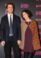 """Foto/IPP/Gioia Botteghi Roma27/11/2018  Presentazione della fiction Netflix """" Baby"""", nella foto: i due registi Andrea De Sica e Anna Negri Italy Photo Press - World Copyright"""