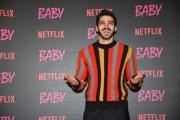 """Foto/IPP/Gioia Botteghi Roma27/11/2018  Presentazione della fiction Netflix """" Baby"""", nella foto:     Giuseppe Maggio Italy Photo Press - World Copyright"""