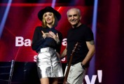 Foto/IPP/Gioia Botteghi Roma 10/07/2020 trasmissione radio 2 Back2Back con Ema Stokholma e Gino Castaldo Italy Photo Press - World Copyright