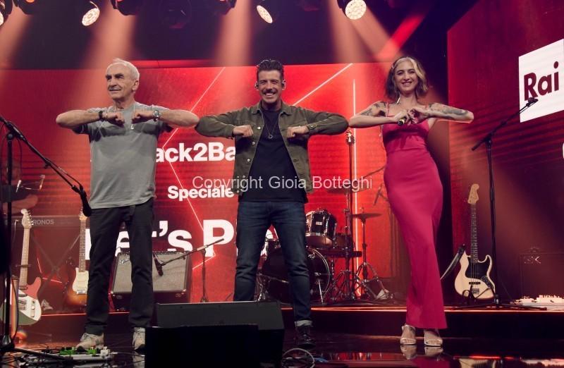 Foto/IPP/Gioia Botteghi Roma 26/06/2020 trasmissione radio 2 Back2Back con Ema Stokholma e Gino Castaldo, ospite della puntata Francesco Gabbani Italy Photo Press - World Copyright