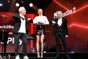 Foto/IPP/Gioia Botteghi Roma 03/07/2020 trasmissione radio 2 Back2Back con Ema Stokholma e Gino Castaldo, ospite della puntata Morgan Italy Photo Press - World Copyright