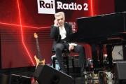 Foto/IPP/Gioia Botteghi Roma 03/07/2020 trasmissione radio 2 Back2Back ospite della puntata Morgan Italy Photo Press - World Copyright