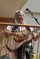 OMEGA/Gioia Botteghi 23/04/07 Baglioni canta in Via Dei Noci a Roma, nella casa dove lui è nato, dal terrazzo del suo vecchio appartamento